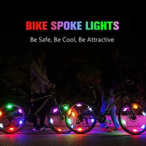 6pcs Night Ride Lights Car Bicycle Bike Cycling Wheel Tire Spoke LED Light Lamp