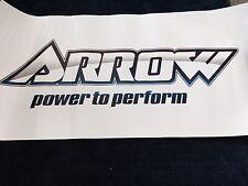 Go Kart - Sticker - Arrow Trailer Sticker 1000 x 500mm - BRAND NEW