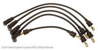 Custom Spark Plug Wire Set for Farmall 4 Cylinder 100, 200, 300, 350, 400, 450.