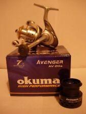 Moulinets eaux douces Okuma à tambour fixe