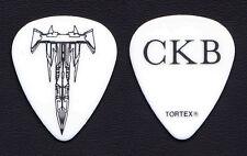 Trivium Corey Beaulieu CKB White Guitar Pick 2013 Vengeance Falls Tour
