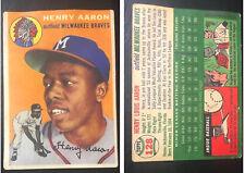 Hank Aaron Card