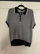 Rag & Bone Black & White  Shirt Size Large