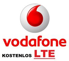 Vodafone Sim Karte Prepaid D2 CallYa LTE 4G Original 10€ Guthaben 1250MB NEU