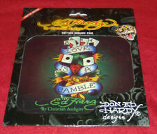 """[TECH] Ed Hardy """"Love is a Gamble""""   Limited Edition Mouse Pad"""