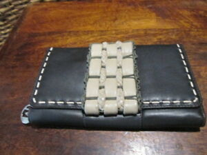 MANZONI leather style purse wallet holder
