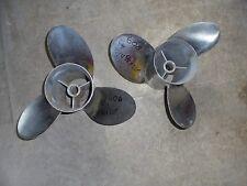 Quicksilver Mirage 14 5/8 x 23P SS LH 48-13245A50 & RH 48-13246A50 Set Mercury