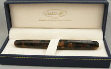 Conklin All American Brownstone & Gunmetal Fountain Pen - Fine Nib - NEW!
