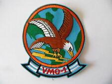 INSIGNE PATCH US NAVY USN USMC VMO-1 Marine Observation Squadron  / AERONAVALE