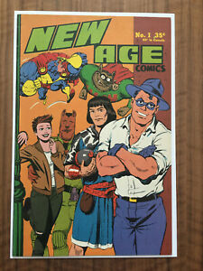 New Age Comics #1 TMNT color appearance VF Condition Rare