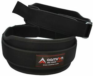 Aamron ® Double Neoprene Belt Lumbar Back Support Gym Training Weight Lifting