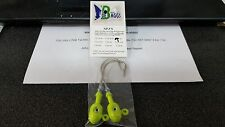 1 Pack Joe Baggs SPJ 7/0 Jigs BARE CHARTREUSE 1oz DISCOUNTS FOR 2 OR MORE
