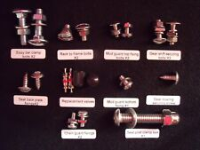Raleigh chopper Mk1 and Mk2 complete renovation nuts, bolts, and accessory's.