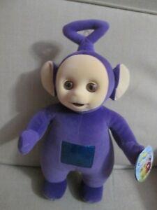 "Tinky Winky Teletubby - Vintage Playskool 1998 13"""