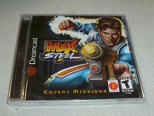 BRAND NEW FACTORY SEALED SEGA DREAMCAST VIDEO GAME MAX STEEL COVERT MISSIONS NFS