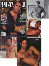 PLAYGIRL 3-95 HUGE JOHN HOLLIDAY KEN RYKER SCOTT BAKULA HAIRY MIKE MARCH 1995  >
