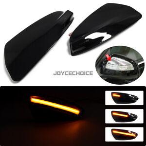 LED Dynamic Turn Signal Mirror Light Side Flashing  For Mercedes Benz S204 W204