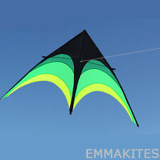 HOT 9ft / 2.8M Green Shrub Single Line Delta Kite for Kids Beginners Easy to Fly