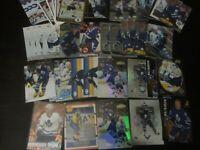 Huge Lot of 52 Mats Sundin Hockey Cards Maple Leafs