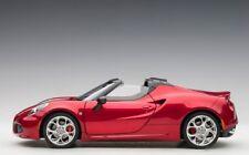 1:18th Alfa Romeo 4C Spider Red