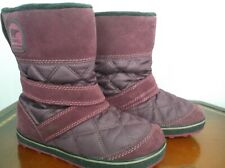 Sorel Quilted leather Winter Snow Boots Wo's Sz. 8.5 M / 6.5 UK / 39 EU