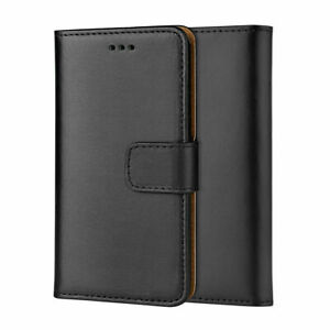 Luxury REAL LEATHER WALLET STAND CASE FOR SAMSUNG GALAXY S10e  UK DISPATCH