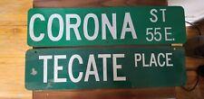 Vintage Novelty Street Signs