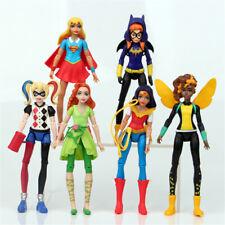 Wonder Woman Movie DC Comic Harley Quinn Hero Action Figure Kids Toy Gift 6 Pcs