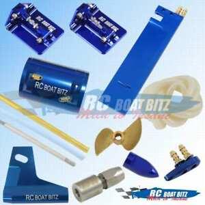 Traxxas M41 Widebody upgrade kit Blue