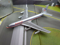American Airlines Boeing B707-123  con Pista - Scala 1:400 Die Cast - Dragon