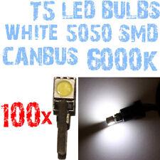 N 100 Gloeilampen LED T5 CANBUS 6000K SMD 5050 Koplampen Angel Eyes DEPO FK 1A3A