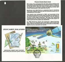 PITCAIRN ISLANDS 2000 EXPO 2000 WORLD STAMP EX FDC SG,MS581 LOT 4587A