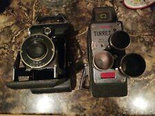 Vintage Cameras 2x Kodak and sunscope