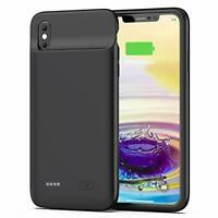 OMEETIE Battery Case for iPhone Xs Max, 5000mAh Slim Portable Rechargeable