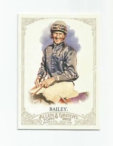 2012 Allen & Ginter Card #81 Jerry Bailey (Jockey) (NM)