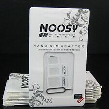 Noosy adaptador 4en1 NANO MICRO SIM MICROSIM UNIVERSAL PARA TODOS LOS MOVILES