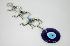 Camel Blue Evil Eye Amulet Protection Hanger Medallion Decor Turkish Feng Shui