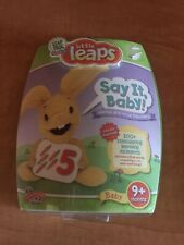 Leap Frog Baby Little Leaps Say It , Baby! NEW