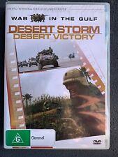 WAR IN THE GULF - DESERT STORM - DESERT VICTORY -  DVD