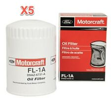 5 Engine Oil Filters FORD MOTORCRAFT FL1A Replace OEM # 5L8Z19D734EA