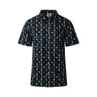 Port Adelaide Power AFL Logo Hawaiian Button-Up Shirt Sizes S-3XL! S21