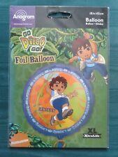 """Go Diego Go! 18"""" Foil Balloons"""