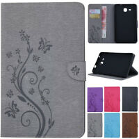 "For Samsung Galaxy Tab A 7"" 8"" 9.7"" 10.1"" Smart Leather Wallet Stand Case Cover"