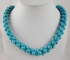 Natural SEDIMENT JASPER &turquoise  Handmade Gemstone Jewellery Necklace