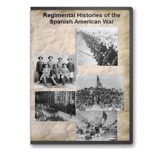 Regimental Histories of the Spanish American War 25 Volumes Genealogy CD B443