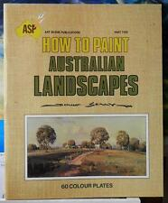 """HOW TO PAINT AUSTRALIAN LANDSCAPES"" Part 2 by DOUG SEALY Special Sale!!!"