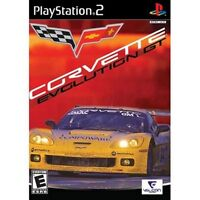 Corvette Evolution GT (Sony PlayStation 2, 2006) DISC IS MINT