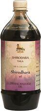 SHIRODHARA Oil (USDA CERTIFIED ORGANIC) - 1ltr - Gopala Ayurveda