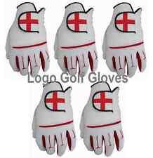 5 Guanti da golf in pelle Cabretta PALMA Inghilterra logo 4 S Medium M/L LARGE