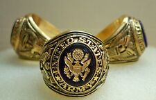 US Army ring with insignia,size 11,gift box